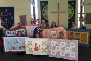 Donated 30 quilts for families across Australia